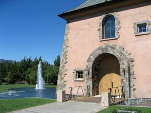 Peju Province Winery in Rutherford, California, one of 450 members of the Napa Valley Vintners association.