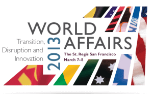 World Affairs Conference 2013