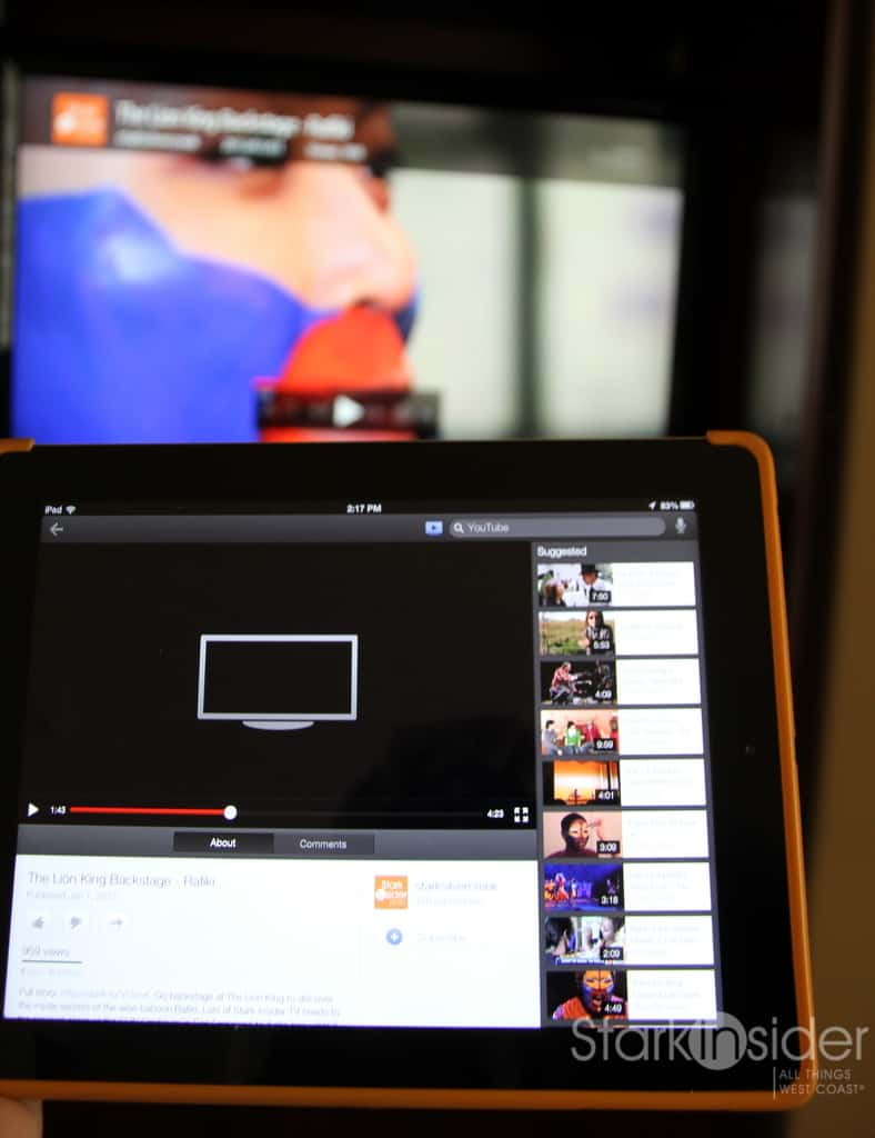 How To Stream Youtube Videos To A Tv Using An Iphone, Ipad Stark Insider