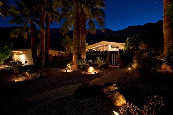 Private Las Palmas Hideaway at night