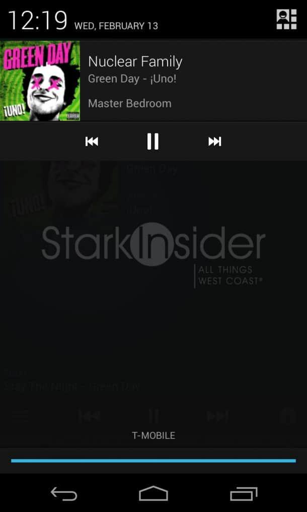 Sonos Android Widget Notifications