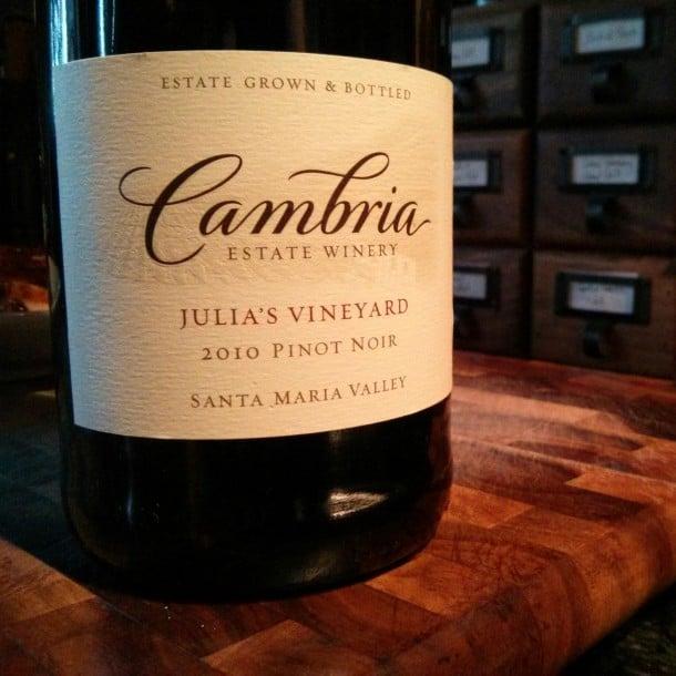 Cambria 2010 Pinot Noir Santa Maria Valley