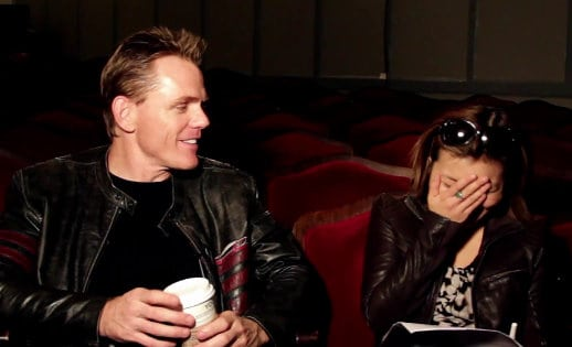Uh, not exactly politically correct: a still from the Christopher Titus interview, the top performing Stark Insider video of the week (watch below)