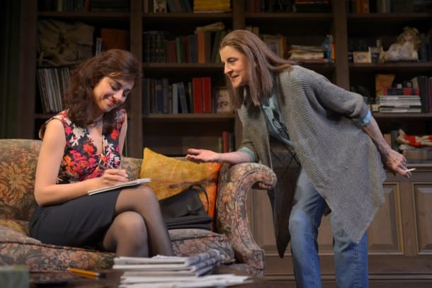 At Berkeley Rep, Marjan Neshat and Concetta Tomei star in the world premiere of Fallaci by Pulitzer Prize-winner Lawrence Wright.