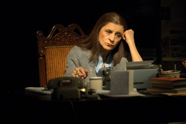 Concetta Tomei portrays legendary journalist Oriana Fallaci in Berkeley Rep's world premiere of Fallaci by Pulitzer Prize-winner Lawrence Wright.