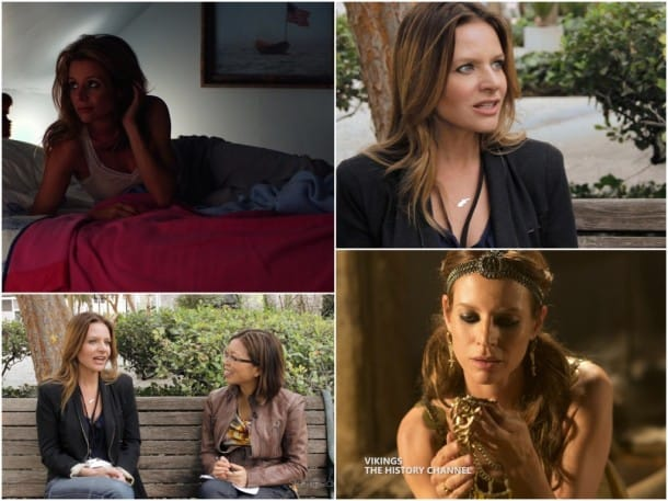 Jessalyn Gilsig Vikings Interview