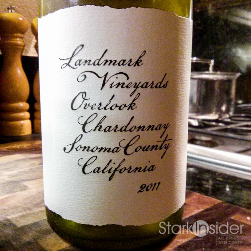 Landmark Vineyards 2011 Overlook Chardonnay