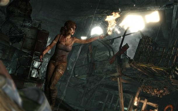 Re-imaged Lara Croft in new Tomb Raider video game is uncertain, desperate to survive, and even looks like a real person now.