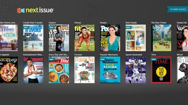 Next Issue for Windows 8