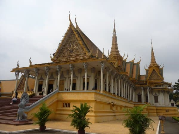 The Royal Palace, Phnom Penh: Where fans hang out when not watching Stark Insider videos.