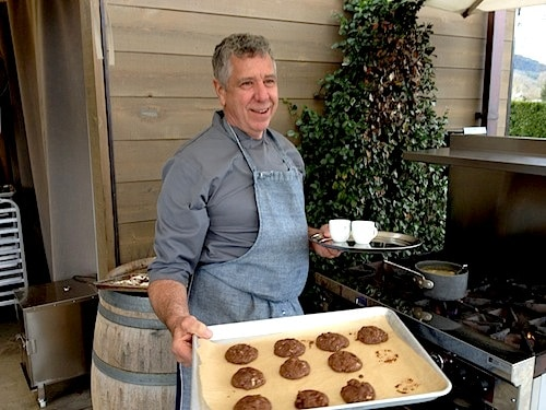 Chef John McReynolds bakes a mean cookie