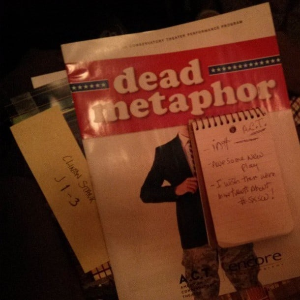 Dead Metaphor - ACT - San Francisco