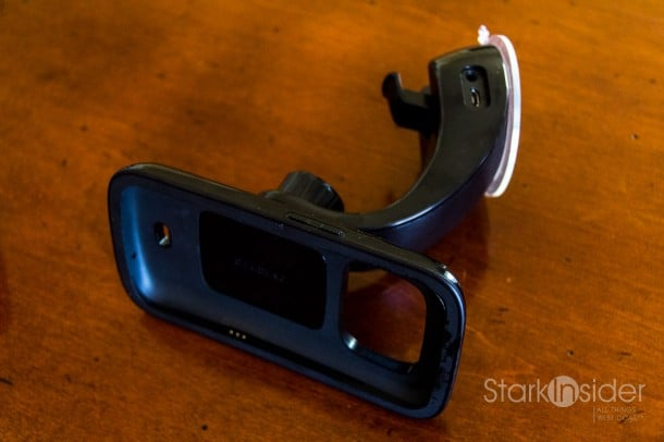 Car dock for the Samsung Galaxy Nexus. Sadly, no such thing exists for Google's current flagship, the LG Nexus 4.