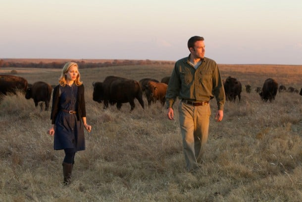 Rachel McAdams and Ben Affleck star in director Terrence Malick's To The Wonder. The film opens April 12 in San Francisco.