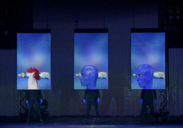Blue Man Group - San Jose Review