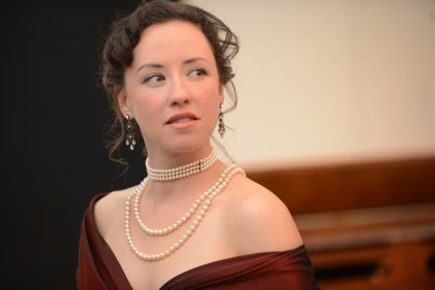 Maryssa Wanless as Anne in San Jose Stage Company's World Premiere of Jane Austen's 'Persuasion' adapted by Jennifer Le Blanc. (Photo: Dave Lepori)
