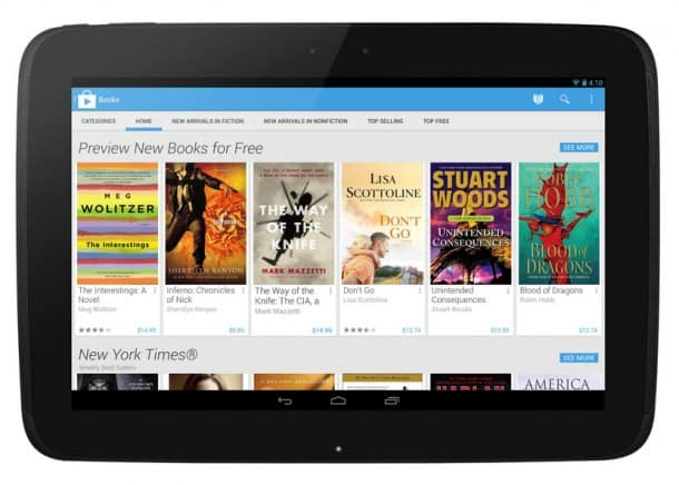 Google Play Store Update - Nexus 7 Tablet
