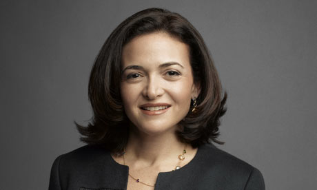 "Legendary Leader? Facebook CEO and 'Lean In' ""author""  Sheryl Sandberg."