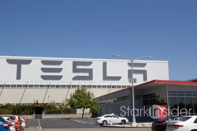 Tesla Fremont Factory - Customer Tesla Model S pickup experience
