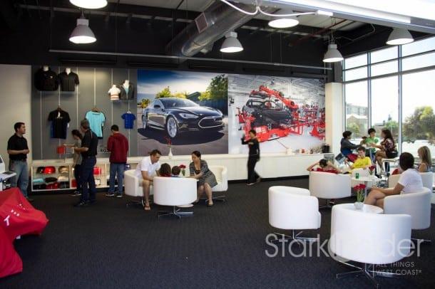 Tesla Factory Pickup - Fremont