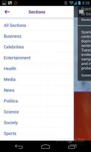 Yahoo Android App - Review