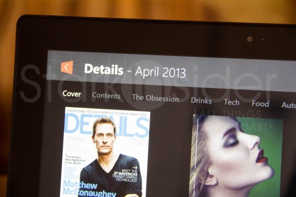 Next Issue for Windows 8 - Review