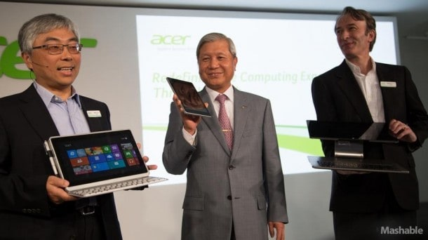 Acer today launched three new products.