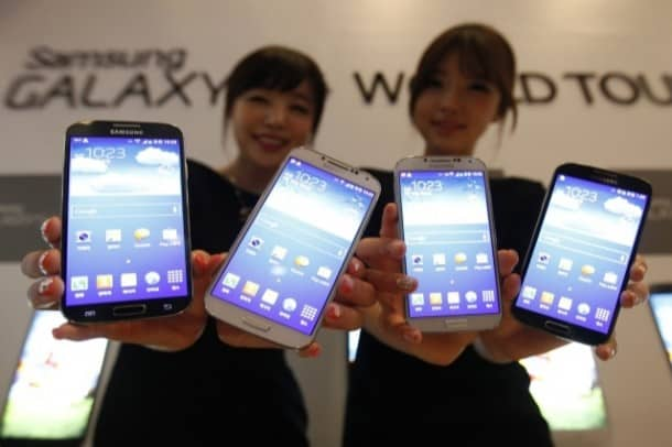 Samsung Galaxy S 4: Sales are off to a brisk start.