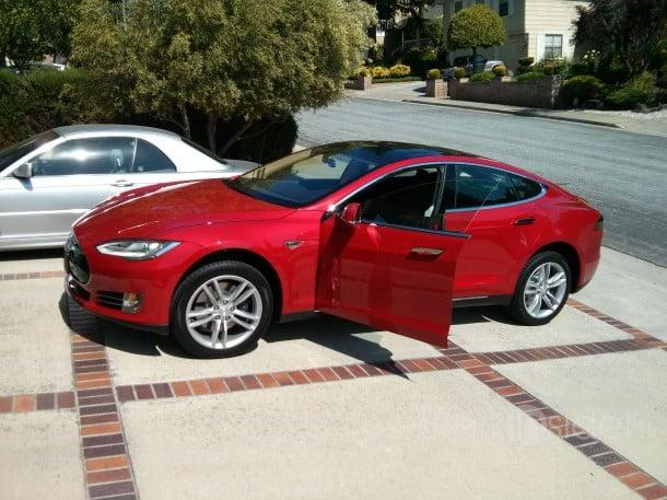 Tesla S Active Air Suspension