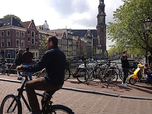 Biking the canals