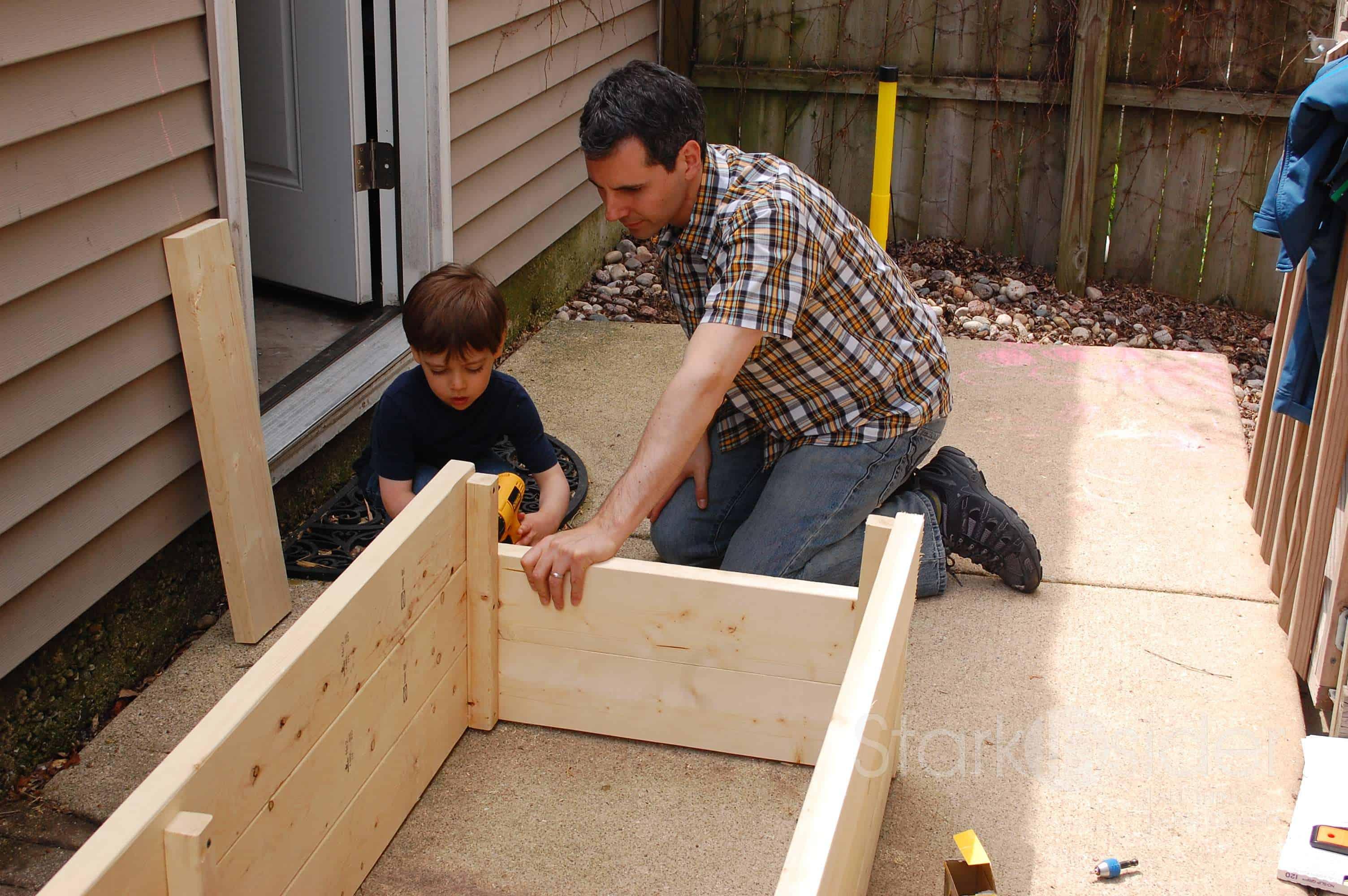 Diy Planter Box Urban Gardning