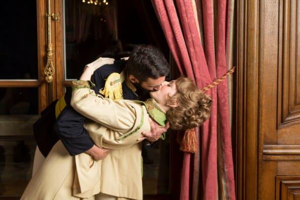 Count Carl-Magnus Malcolm (William Giammona) and Countess Charlotte Malcolm (Alicia Teeter) in Hillbarn's presentation of 'A Little Night Music'.