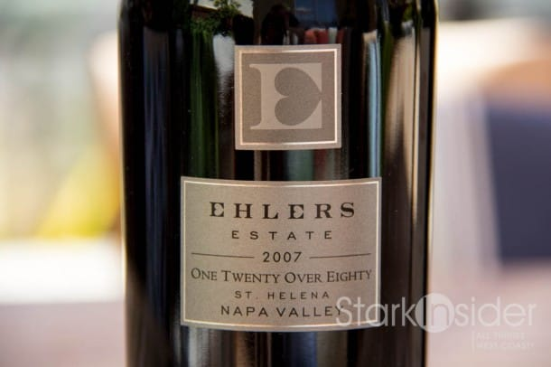 Ehlers Estate - One Twenty Over Eighty - Wine Review