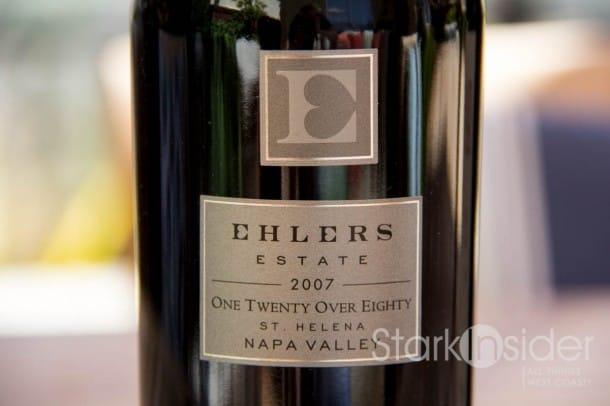 Ehlers Estate - One Twenty Over Eighty - Wine Review