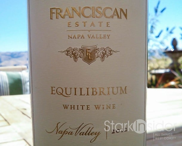 Franciscan 2012 Equilibrium White Wine - Napa Valley - Review