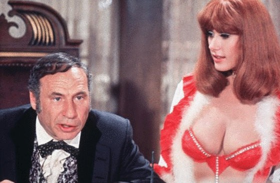 Mel Brooks in Blazing Saddles