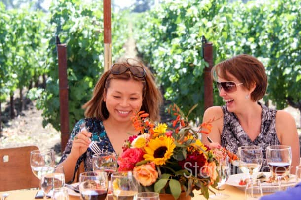 Some of our most memorable Stark Insider moments happened at Robert Mondavi Winery.