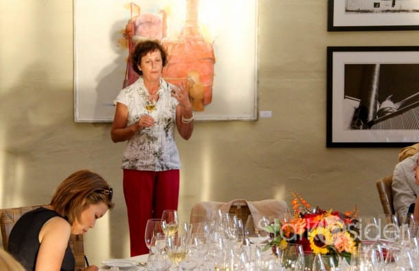 Don't pass up a chance to listen to Geneviève Janssens talk about winemaking, its philosophy, and history.