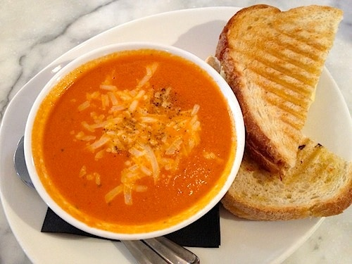 Try their soup and sammie for the ultimate comfort food