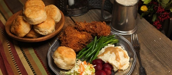 Michie Tavern fare