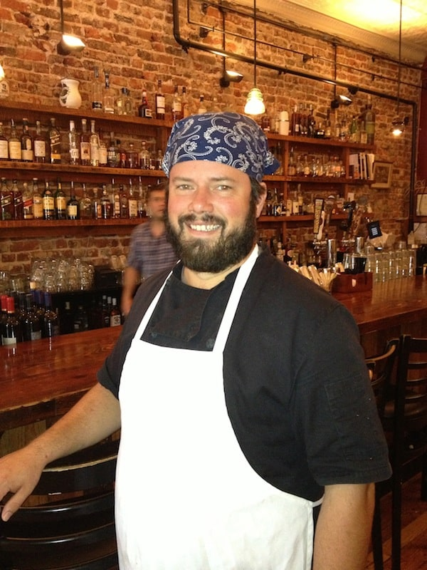 Chef/Owner Will Richey cooks up a storm at Whiskey Jar