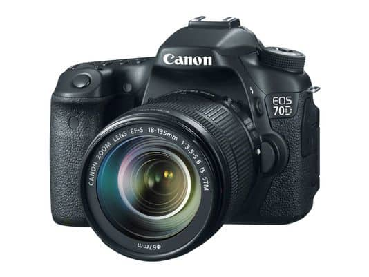 Behold the Beauty: New Canon EOS 70D will hit the market this September and features video auto-focus.