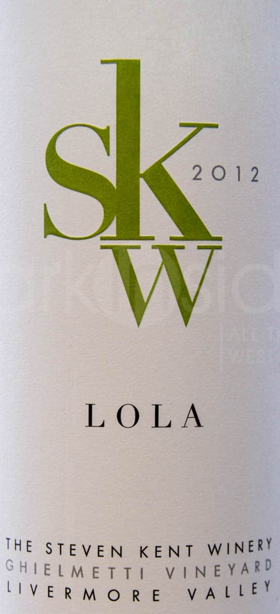 SKW Winery Livermore Lola Label
