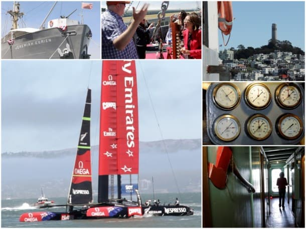 America's Cup meets Napa Valley - Wine Tasting Video