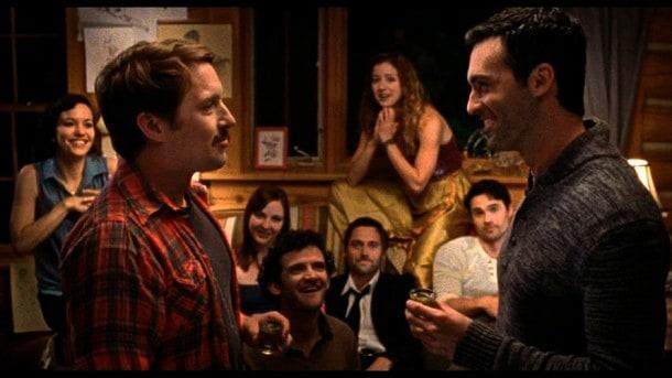 Whiskey slaps! Britt Lower, Beck Bennett, Erin Darke, Will Brill, Ryan Eggold, Jessy Hodges, Brett Dalton and Reid Scott.