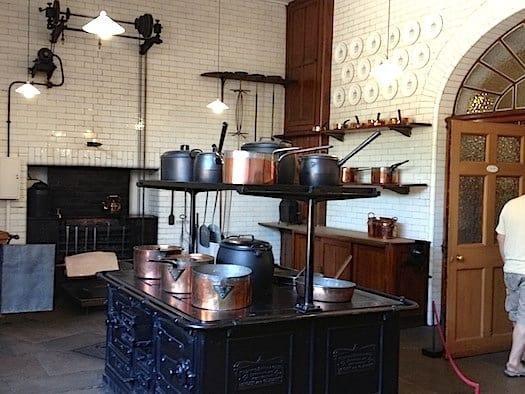 Downstairs kitchen Egerton  Mansion