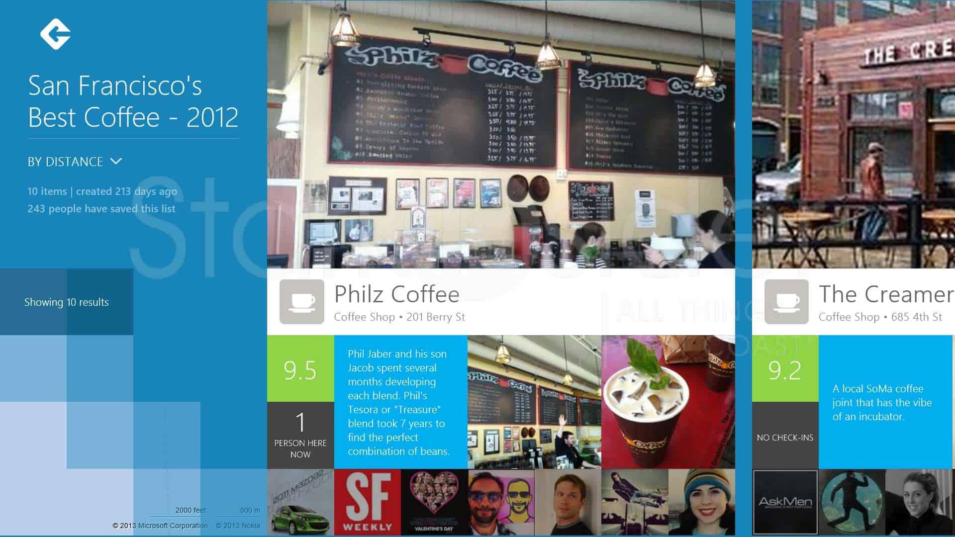 Poster design software windows 8 - Design Poster Win8 Foursquare Review Windows 8