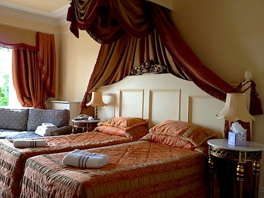 Our bedroom at The Grange