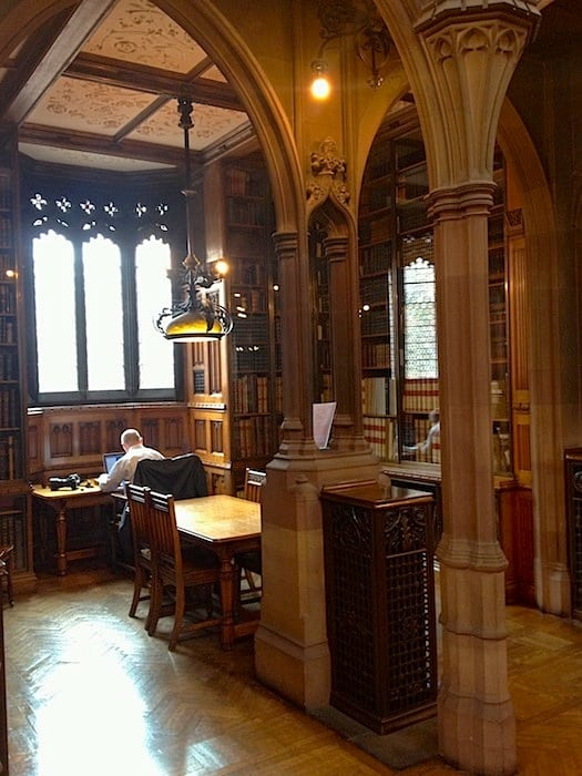 Studying at John Rylands Library