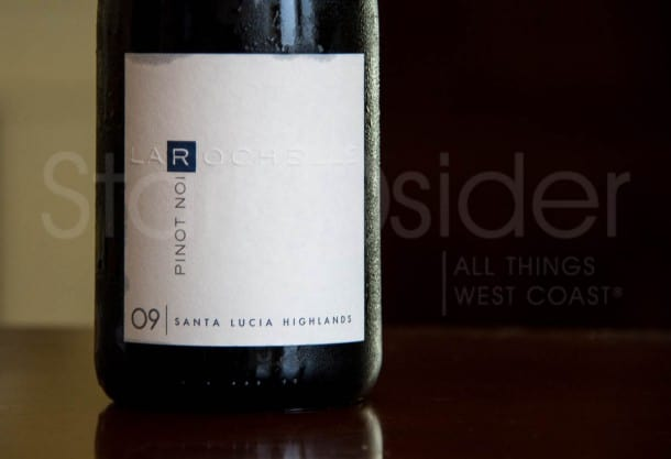 La Rochelle Wine Review, Pinot Noir, Santa Lucia Highlands